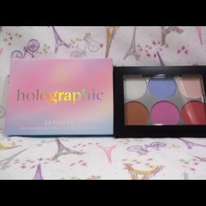 Sephora Collection: Holographic Face/Cheek Palette